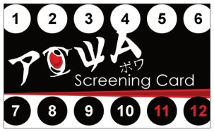 Screening Card